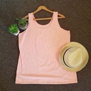 Maurices Bright Pink Layering Tank Top